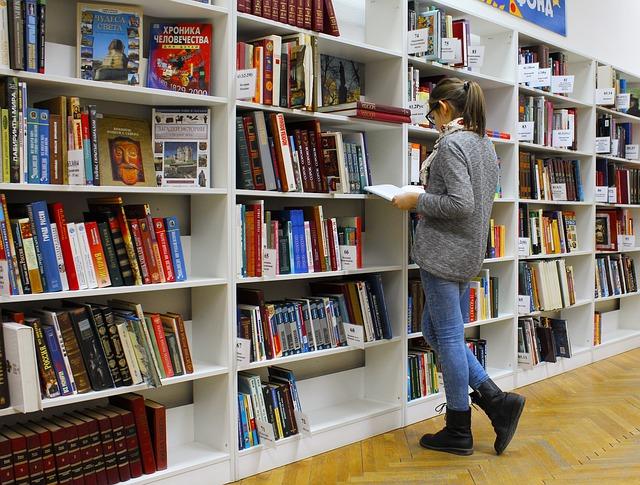 nabídka knihovny