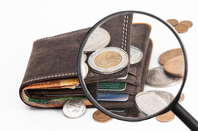 hledání peněz