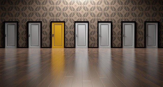 výběr dveří